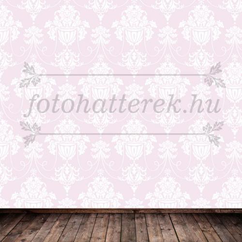 Rózsaszín damaszt mintás fotóháttér