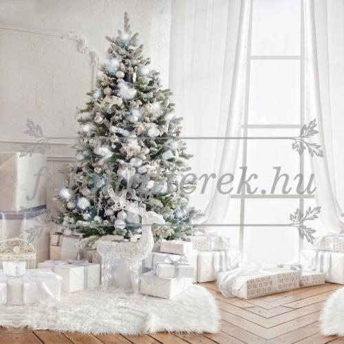 Ezüst-fehér karácsony