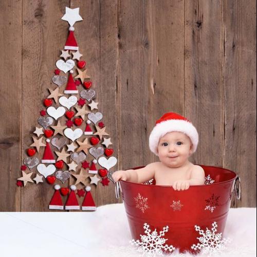 Piros karácsonyfa