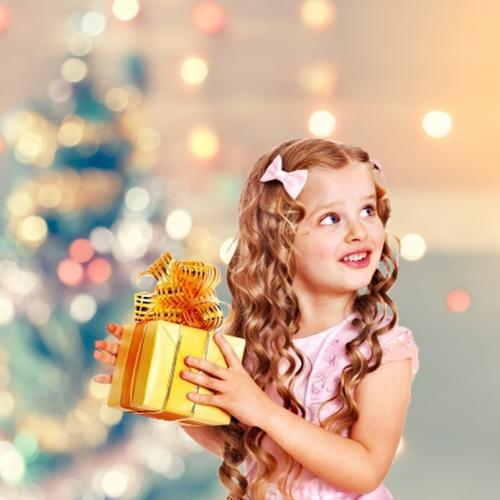 Bokeh karácsonyfa
