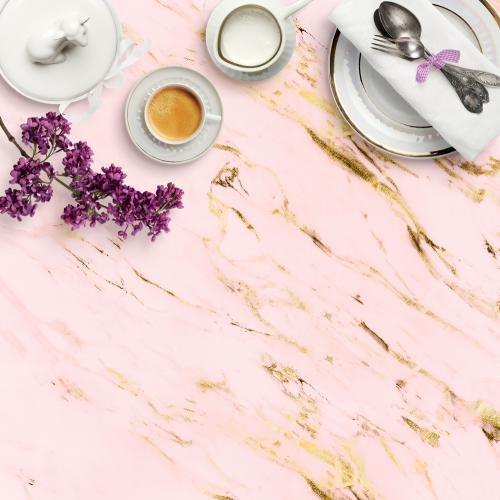 Arany-rózsaszín márvány