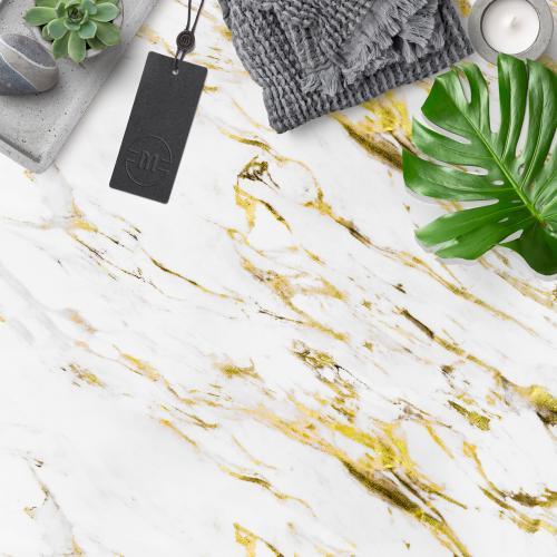 Fehér-arany márvány