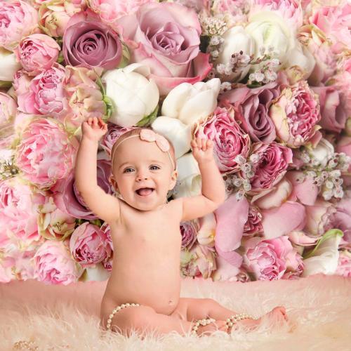 Rózsás - virágos